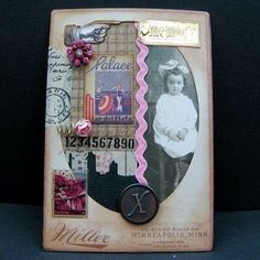 Country View Crafts' Projects: Cabinet card art - Chris