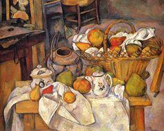 Paul Cézanne - The Kitchen Table