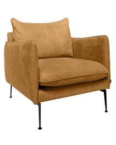 Nilssons i Svedala - Vision fåtölj Cognac Love Seat, Armchair, Couch, Throw Pillows, Bed, Interior, Furniture, Cottage, Design