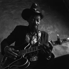 "Clarence ""Gatemouth"" Brown by James Fraher"