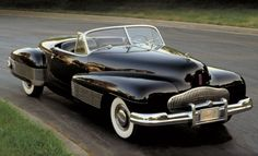 The 1938 Buick Y-Job was a concept car that had huge influence on design in Detroit.
