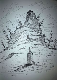 Pilgrim Stick Salesman, ricky westwood on ArtStation at https://www.artstation.com/artwork/QDZO8