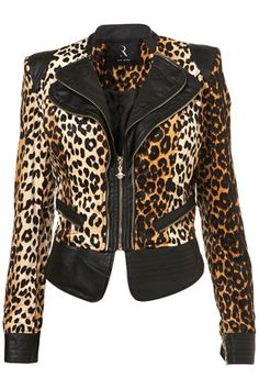 **Leopard Jacket by Rare coat léopard encore XD Leopard Fashion, Animal Print Fashion, Fashion Prints, Animal Prints, Leopard Jacket, Cheetah Print, Leopard Prints, Passion For Fashion, Mantel