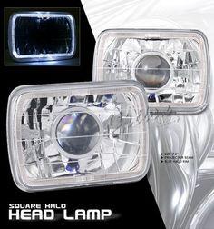 Jeep Cherokee 1979-2001 7 Inch Halo Sealed Beam Projector Headlight Conversion