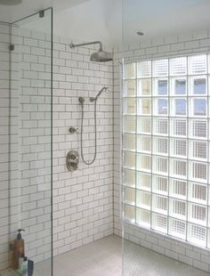 Clear glass for view, obscure glass for privacy. - eclectic - bathroom - san francisco - James Hill Architect