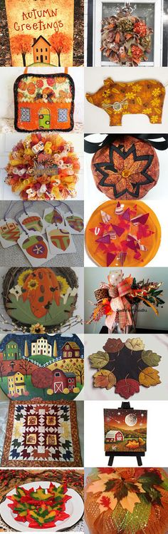 COLORS of FALL  by Maryann on Etsy--Pinned+with+TreasuryPin.com