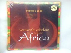 Women's Wisdom From the Heart of Africa by Sobonfu Some 2004~6 CD Audiobook NEW