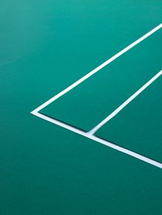 #BeautifulTennis codes, green courts & green lines.