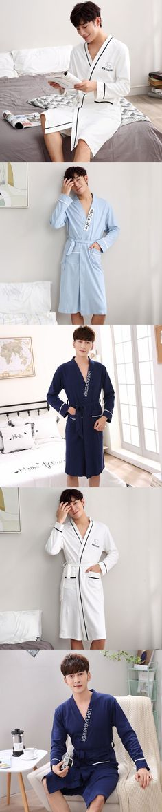 2017 winter robe male with hooded dressing gown jedi empire long thick men's bathrobe nightgowns mens bath robe