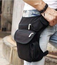 Wish | Multifunction Outdoor Cotton Sport Leg Bag Canvas Waist Bag Money Belt Fanny Pack