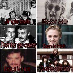 Queen Art, I Am A Queen, Save The Queen, Music Humor, Music Memes, John Deacon, Guns N Roses, Galileo Galileo, Queen Meme