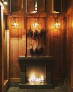 #tb to #blizzard2016 #fireplace #work #like4like #lighting #light #wood #chalet #winter #monday by mp_interiors