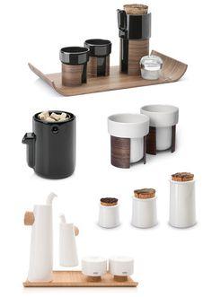 shine and wood Finnish company Tonfisk Porcelain Ceramics, Ceramic Mugs, Nordic Design, Scandinavian Design, Dining Ware, Kitchenware, Tableware, Bottle Vase, Coffee Set