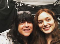 Pin for Later: Go Behind the Scenes of Fifty Shades Darker With Dakota Johnson  James posed with Heathcote for a selfie.