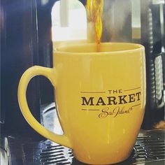 The Southern C(ity) Guide | St. Simons Island. Coffee at The Market at Sea Island. #thesouthernc #stsimonsisland #seaisland #farmersmarket