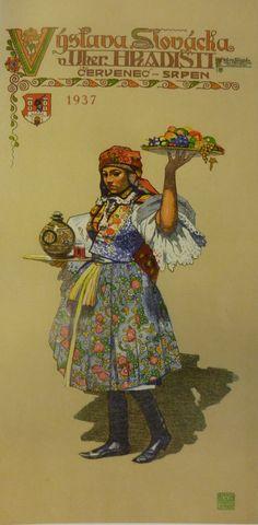 Maratanka - 1937   Moravian National Costume