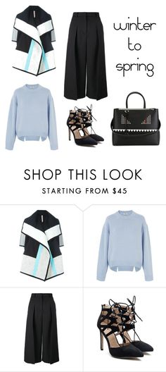 """""""winter to spring look"""" by shellynrl27 on Polyvore featuring Antonio Marras, Acne Studios, Erdem and Fendi"""