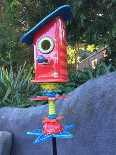 Birdhouse Totem