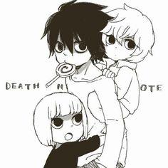 L, Near and Mello - Death Note. I love Mello! I feel like he is too underappreciated.