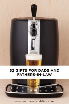 52 Gifts for Dads and Fathers-in-Law | Martha Stewart Weddings - It's the thought that counts when it comes to surprising pop with a special treat. But sharing something he will truly love only makes the sentiment more sweet. To help you put a smile on his face—and something he will cherish in his hands—we've rounded up some of our favorite gift ideas for dads—including your father-in-law—to share on special occasions, from Father's Day to the big day.