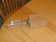 """Carpenter Bee Traps (UPGRADED) Some of you saw my original """"Carpenter Bee Trap"""" post. Wood Boring Bees, Wood Bees, Outdoor Projects, Wood Projects, Outdoor Ideas, Carpenter Bee Trap, Bee Traps, Bug Off, Bee House"""