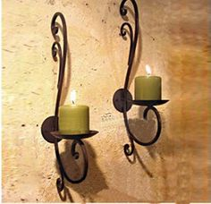 Iron candle holder home decoration metal candle stand Vintage Finish Wall mount Candle stick entryway Home Accents Flat Iron. Subcategory: Home Decor. Wall Hanging Candle Holders, Iron Wall Candle Holders, Wall Candles, Candle Sconces, Metal Candle Stand, Candle Wall Sconces, Iron Candlesticks, Wall Candle Holders, Candle Stand