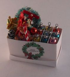 Decorations in Box #2 by Elle Reulbach