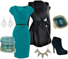 """Teal modern"" by new-label on Polyvore"