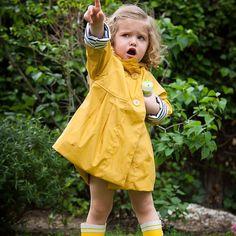 Love it!  - Yellow Raincoat by AliOli Kids