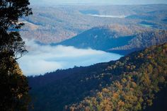 October Fog in the Greenbrier Valley by Jim Jackson--AOUWV