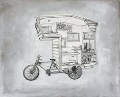 Велокемпер: дом на колесах с педальным приводом