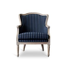 Evelyn Arm Chair in Blue | Joss & Main