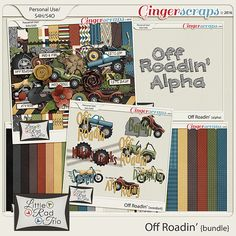 Off Roadin {Bundle} by Little Rad Trio