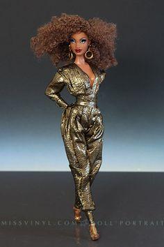 Pepper Barbie in custom outfit