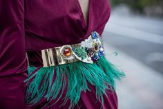 fringed belt