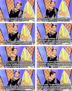 "Shailene Woodley's acceptance speech at the TCA 2014 Awards for ""Best Action/Adventure Actress"""