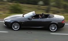 2016 Aston Martin DB9 convertible.