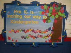 Graduation bulletin board for pre k