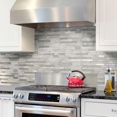 9 Creative and Modern Tips Can Change Your Life: White Beadboard Backsplash peel and stick backsplash style.Subway Tile Backsplash Kitchen beadboard backsplash with dark cabinets. Kitchen Stove, Kitchen Redo, Kitchen Tiles, Kitchen Colors, New Kitchen, Kitchen Remodel, Backsplash Herringbone, Blue Backsplash, Beadboard Backsplash
