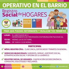 Mañana 20 de octubre de 10 a 13.30 hrs en El Libertador 612 Los esperamos!