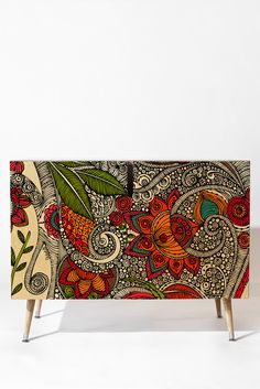 Valentina Ramos Random Flowers Credenza | DENY Designs Home Accessories