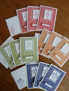 Splitcoaststampers FOOGallery - In Color Note Cards View 2