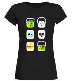 8a411fa9e Cute Kids Funny Cute Monster Emoji Halloween T-Shirt Funny Kids, Funny Cute,