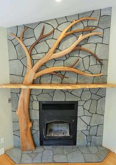 7 Exciting Cool Ideas: Shiplap Fireplace With Bookshelves fixer upper fireplace shelves.Corner Fireplace And Mantels freestanding fireplace gas.Tv Over Fireplace Dimensions. Fireplace Garden, Concrete Fireplace, Home Fireplace, Fireplace Remodel, Fireplace Design, Bathroom Fireplace, Fireplace Candles, Fireplace Makeovers, Craftsman Fireplace