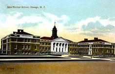 New Normal School, Oswego, N.Y. circa 1915