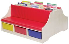 FREE SHIPPING Double Sided Reading Bench | Honor Roll Childcare Supply - Early Education Furniture, Equipment and School Supplies.