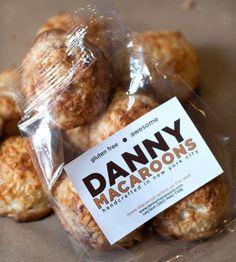 Original Coconut Macaroons  by Danny Macaroons on Scoutmob Shoppe