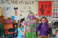 Catholic Schools Week Wacky Wednesday in Music Class