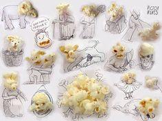 讓人意想不到!這些生活小物件竟然可以用來創作出這麽有趣的圖畫! | 快樂工作室 | 大娛樂家 - FanPiece
