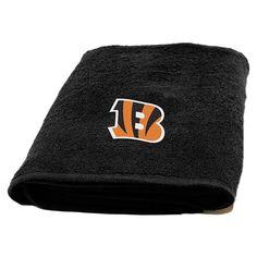 NFL Applique Bath Towel - Cincinnati Bengals